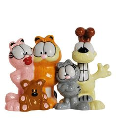 Look at this Garfield & Friends Salt & Pepper Shakers on #zulily today!