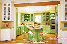 Gulab » Decoração: Cozinha com Ilha