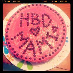 My moms chocolate birthday cake :)