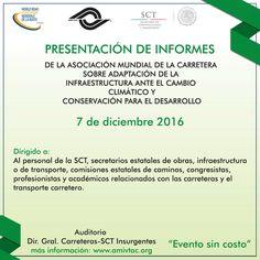 Inscribete y aparta tu lugar a la presentación de informes este 7 de diciembre de 2016.