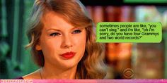 taylor swift funny quotes - Google Search