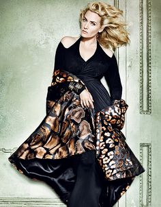 Kate Winslet photographed by Mario Testino for Vogue Magazine, November 2013.