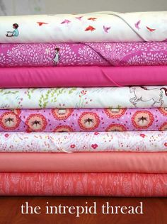Wee Wander bundle Giveaway with the Intrepid Thread for Friday's Fabric Giveaway! by maureencracknell, via Flickr