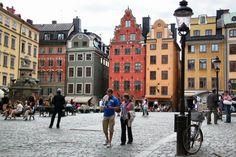 http://guias-viajar.com/ Plaza de Gamla Stan en Estocolmo, Suecia