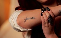 One of Demi Lovato's tattoos... I have been wanting a tattoo in this spot