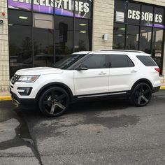 Ford Explorer Sport See More Can T Go Wrong With Dubwheels Ballers In Black On A New
