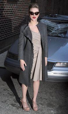 Scarlett Johansson cat eye sunnies  http://www.inspiredshades.com/blog