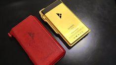 iBasso DX200 gold Passport, Gold, Yellow