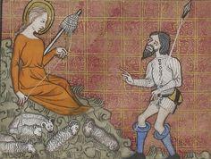 Miroir Historial [Speculum historiale], NAF 15942-15944. C. 1370-80. France.  http://gallica.bnf.fr/ark:/12148/btv1b84496928/f16.image