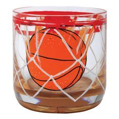 basketball painted on wine glass - Google Search