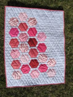 Becclyn Quilts: Baby Hexis