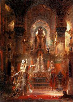 Gustave Moreau  ヘロデ王の前で踊るサロメ