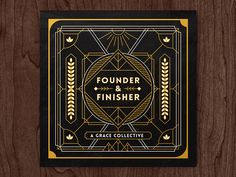 Founder & Finisher - Album Art by Andrew Berkemeyer #Design Popular #Dribbble #shots