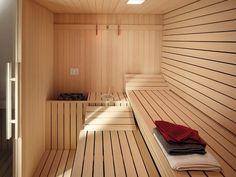Image result for internal sauna cladding