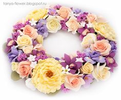 Tanya Flower: Флористика - Цветочный венок.