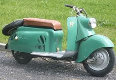 1956 IWL SR56 Wiesel Scooter 125cc Single Cylinder MZ Air-cooled 2-Stroke 6hp Engine