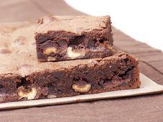 Brownies Nutella, noisettes