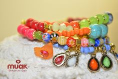 No me olvides accessories in Muak bohemian style. Follow us on facebook