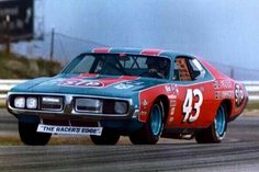 Richard Petty Plymouth Al Unser Dodge Nascar Old School