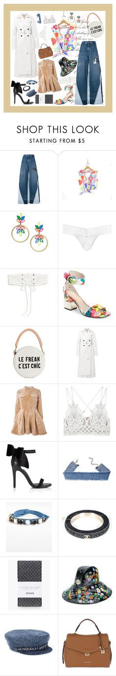 """60s daisy chains"" by unholyveins on Polyvore featuring Dolce&Gabbana, Loren Hope, Hanky Panky, For Love & Lemons, Nanette Lepore, Clare V., Jil Sander, J.W. Anderson, Free People and Miss Selfridge"