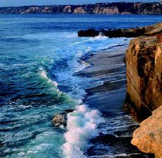 La Jolla is known for it's beautiful beachy views. It was voted in the top 10 Best Beaches in America by Trip Advisor!