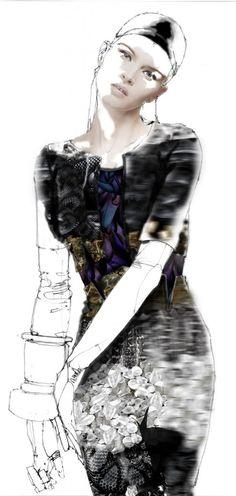 Aminaka Wilmont #fashion_illustration