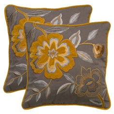 Add a plush pop of style to your sofa or favorite reading nook with this eye-catching pillow.   Product: PillowConstr...