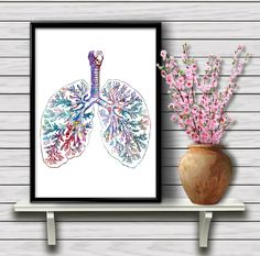 Giclee Painting Nucleus Medical Art 39
