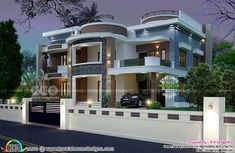 Kerala Small Home Plans New 1 Lakhs House Plans In Kerala Awesome Kerala Home Design and Floor - Best Home Interior Design 6 Bedroom House Plans, House Plans Mansion, Dream House Plans, Modern House Plans, Small House Plans, Modern Exterior House Designs, Modern House Design, Bungalow Haus Design, House Construction Plan