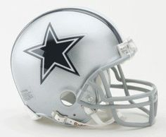 Dallas Cowboys Replica Mini Helmet w/ Z2B Face Mask