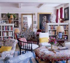 Design by Carolina Irving. Great furniture plan.