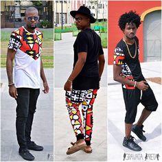 Com o estilo Carioca e de traços africanos garotos/Blogueiros da GRAVATA PRETA…