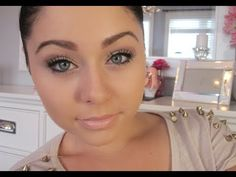 ▶ Makeup Look for Work - Professional/Business Casual ♡ - YouTube  THIS IS NOT CASUAL FOR ME! It's elaborate.  But nice.