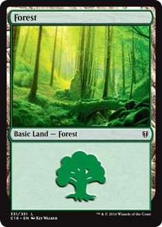 The Basic Lands of Commander (2016 Edition) | MAGIC: THE GATHERING