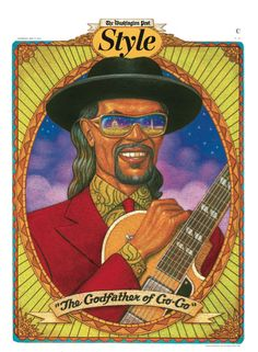 """Chuck Brown """" The God Father of Go Go"""" and a  influence on the Hip Hop culture"""