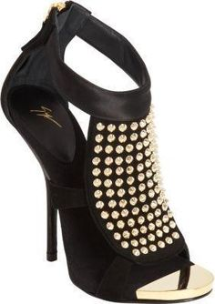 Giuseppe Zanotti #shoes #heels #pumps studded #sandals