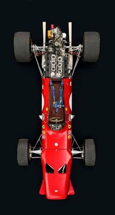 This 1968 Ferrari Dino has been raced by Jacky Ickx, Derek Bell and Ernesto Brambilla, achieved great success in the Tasman Series and is responsible for Ferrari's first Formula 2 win. Ferrari F1, Ferrari Daytona, Ferrari Scuderia, Ferrari Racing, Land Rover Auto, Maserati, Bugatti, Blake Et Mortimer, Porsche