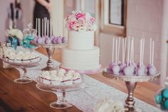 Delicious dessert buffet by Frosted Fantasies and Princess Allure Boutique Events.  #wedding #yum #delicious #dessert #desserttable #dessertbuffet #love  Photography by http://www.imagineimages.com.au/