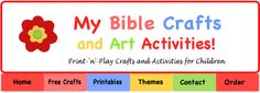 My Bible Craft and Art Activities - printable
