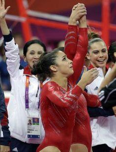 Aly Raisman, London 2012 USA Women's Gymnastics