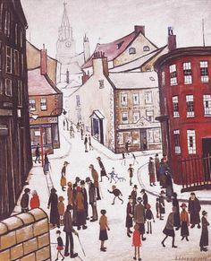 Berwick upon Tweed - by Lowrey