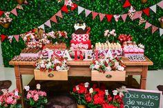 Olha que amor esta Festa Picnic!!Sou apaixonada por este tema.Imagens enviadas pela mamãe Patricia Fávero.Lindas ideias e muita inspiração.Bjs, Fabíola Teles.Mais ideias lindas:Decoração: Cr...