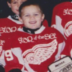 #tbt to when I first started playing for the Redwings... Star of the Sea Redwings that is