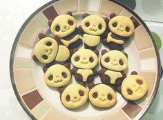 Lovely Panda Cookie #Panda #Cookie #CuttersSet