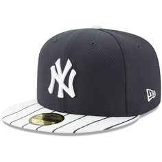 05bd219446f Youth New York Yankees New Era Navy White Diamond Era 59FIFTY Fitted Hat