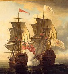 The Caribbean had become a center of European trade after Columbus' discovery of the New World for Spain in 1492. Spain had control of the Americas. Key settlements were Cartagena, Porto Bello, Panama City, Santiago on the southeastern coast of Cuba, and Santo Domingo. Spanish were mining staggering amounts of silver bullion.  shipments from the New World   attracted pirates and French privateers in the Caribbean and across the Atlantic, all along the route from the Caribbean to Seville.