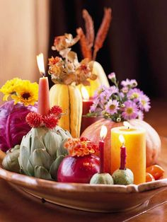 Thanksgiving & Christmas table ideas