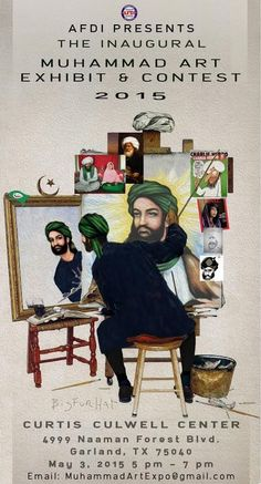 $10,000 Muhammad Art and Cartoon Contest to be Held at Site of 'Stand With the Prophet' Conference in Texas