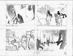 """Concept art for """"The Doom That Came To New Sarnath."""" Lao horror and science fiction."""