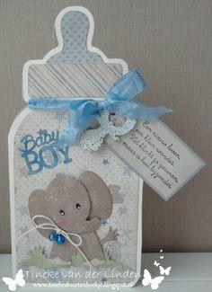 Juegos Baby Shower Niño, Baby Shower Invitaciones, Baby Barn, New Baby Cards, Baby Album, Baby Shower Cards, Marianne Design, Baby Scrapbook, Baby Bottles